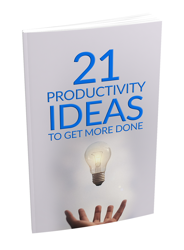 21 Productivity Ideas