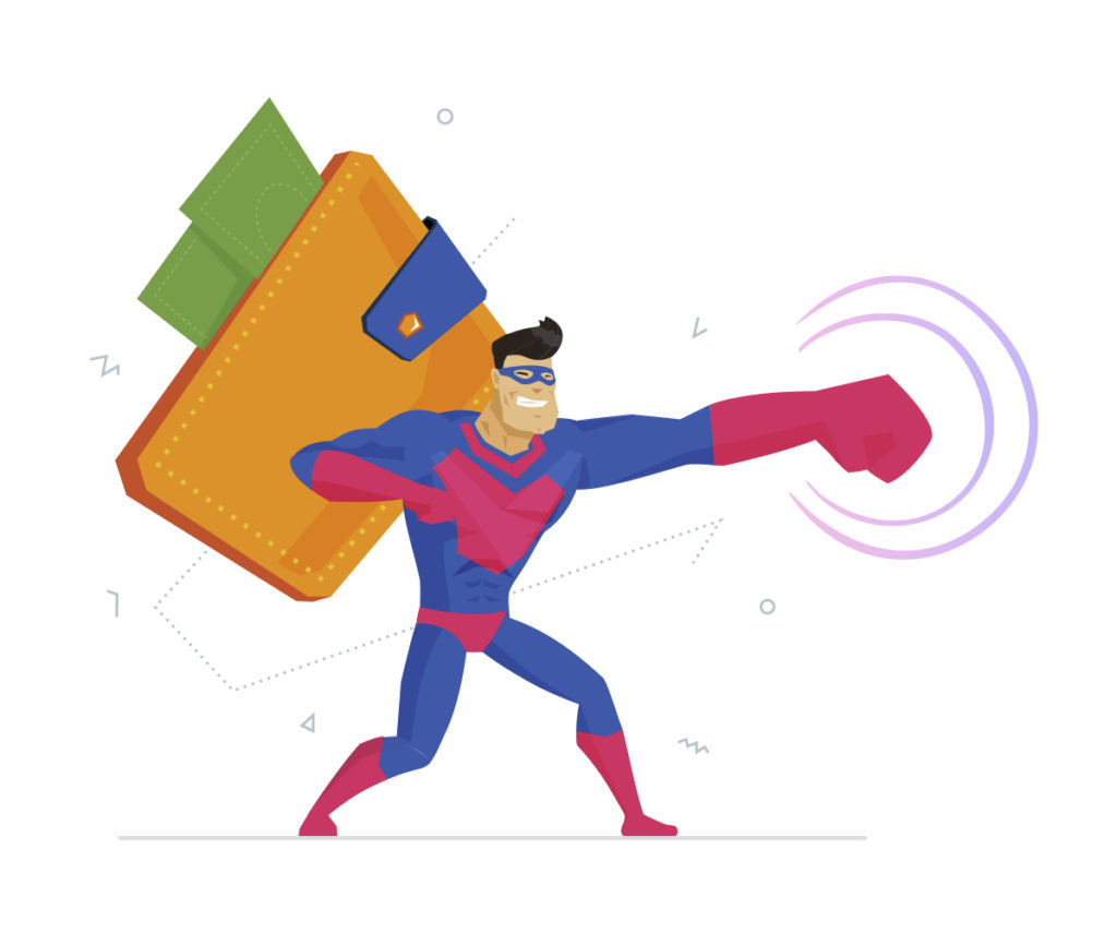Self-employers need to be super hero's to be successful