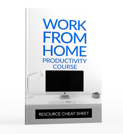 Work From Home Resource Checksheet