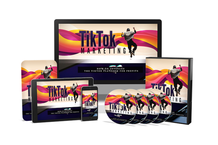 TikTok Marketing Strategy Course bundle