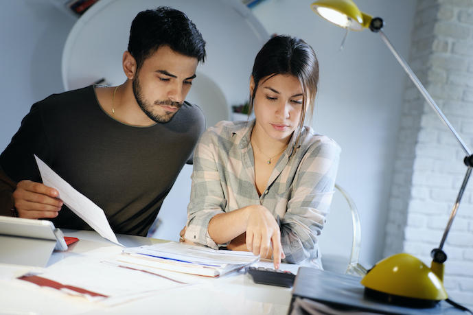 Couple worried about their rising debt problems